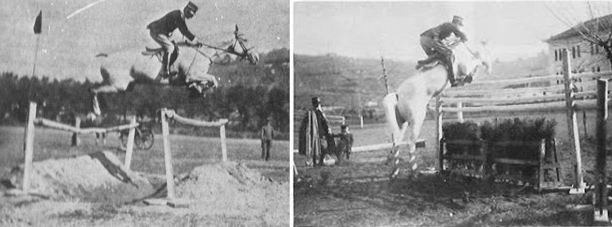Italien Ecole De Cavalerie, 1906