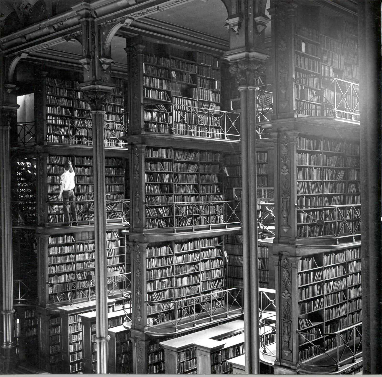 La vecchia libreria anteriore di Cincinnati