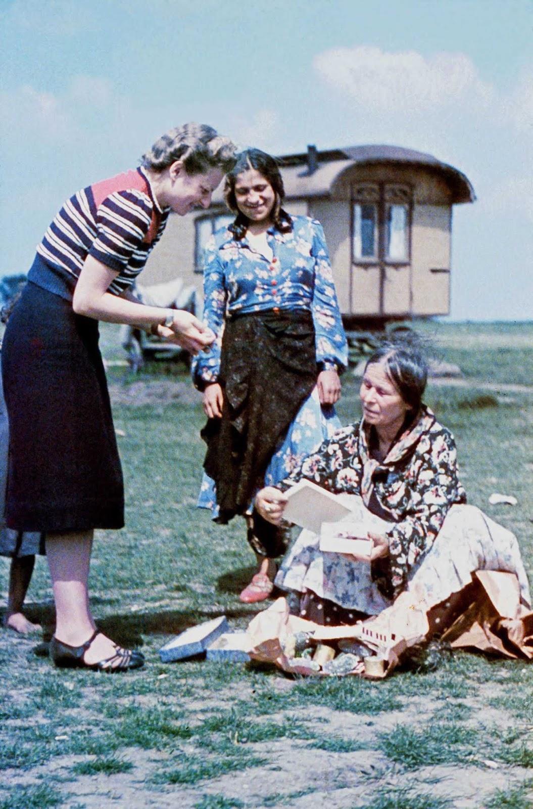 L'expulsion des Roms de l'Allemagne Nazie, 1938-1940