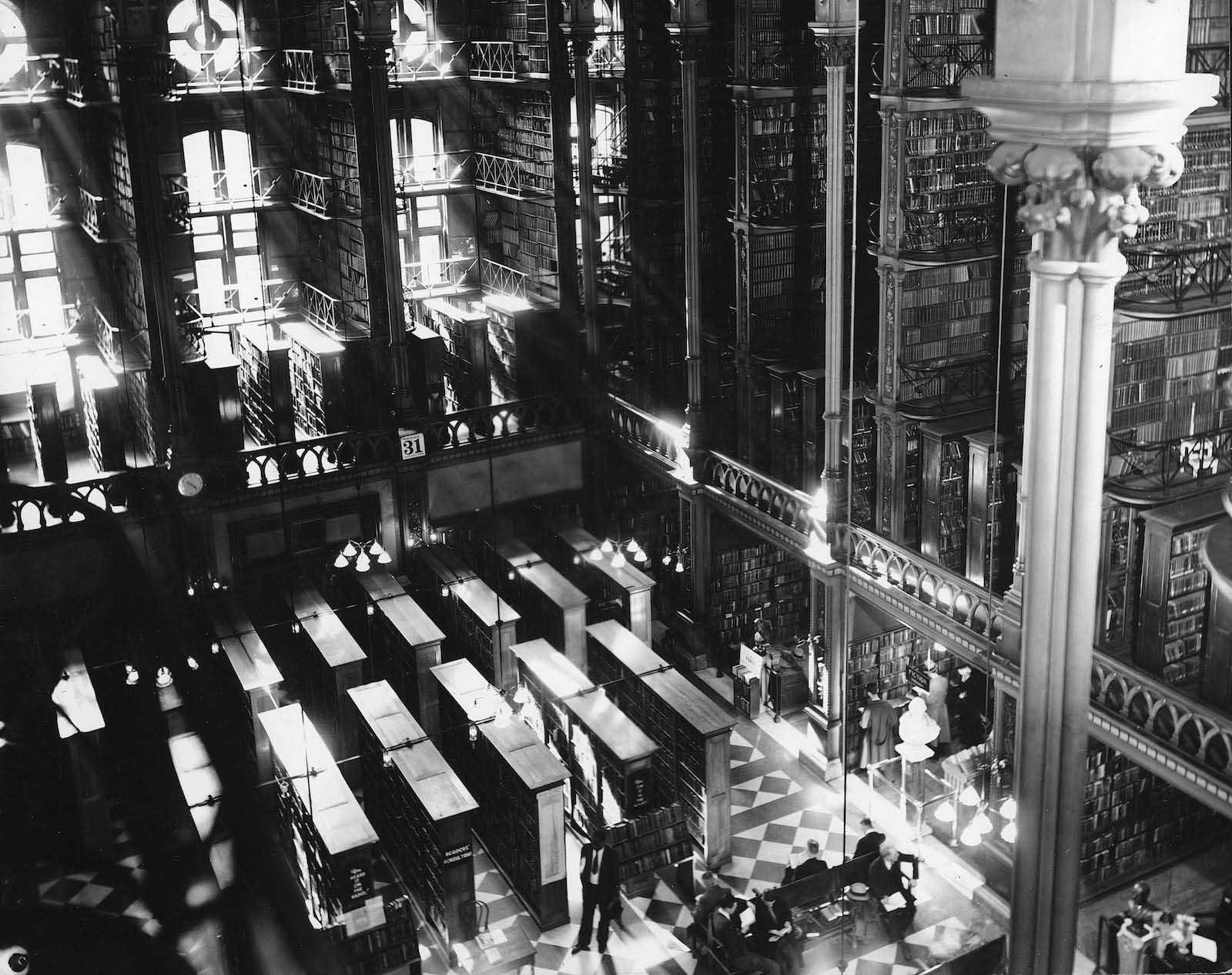 La vecchia libreria Cincinnati prima di essere demolita, 1874-1955'Ancien Cincinnati Bibliothèque avant d'être démoli, 1874-1955