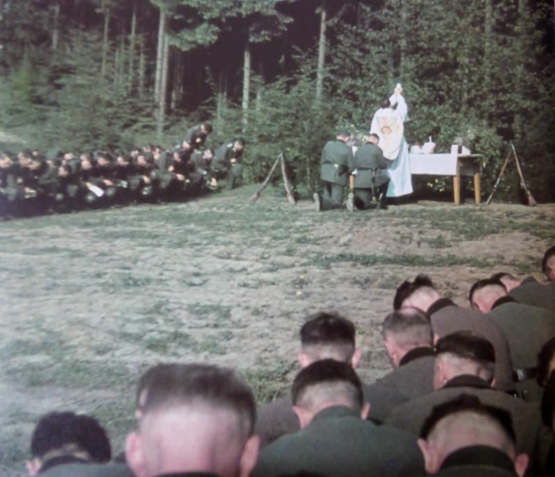La division de la Wehrmacht dans le culte catholique avant l'invasion de l'URSS