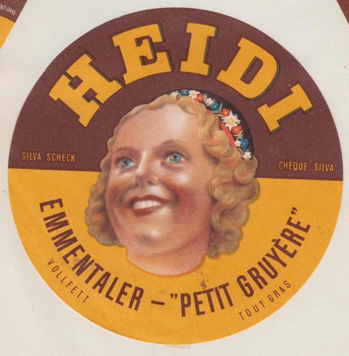 Mon Père, la Collection des Étiquettes de Fromage à partir des années 1940 et 50,