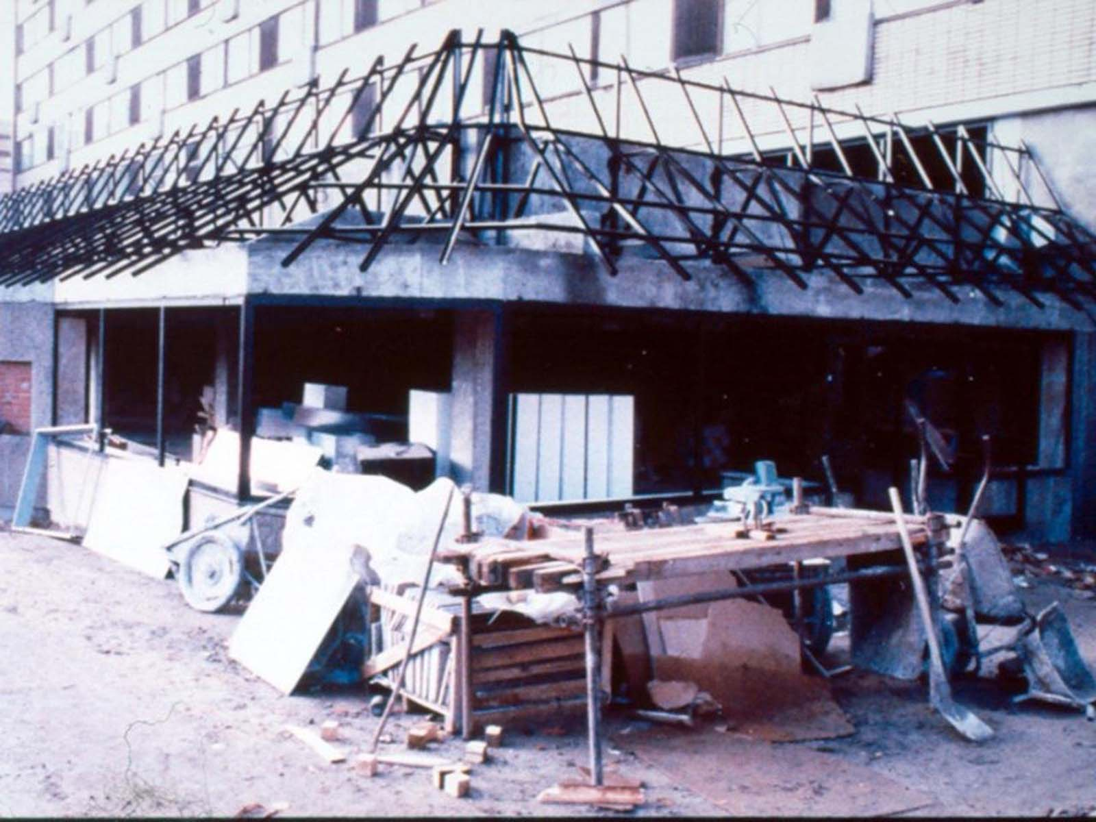 Le premier Mcdonald's à Moscou, qui a poussé la ville folle, 1990