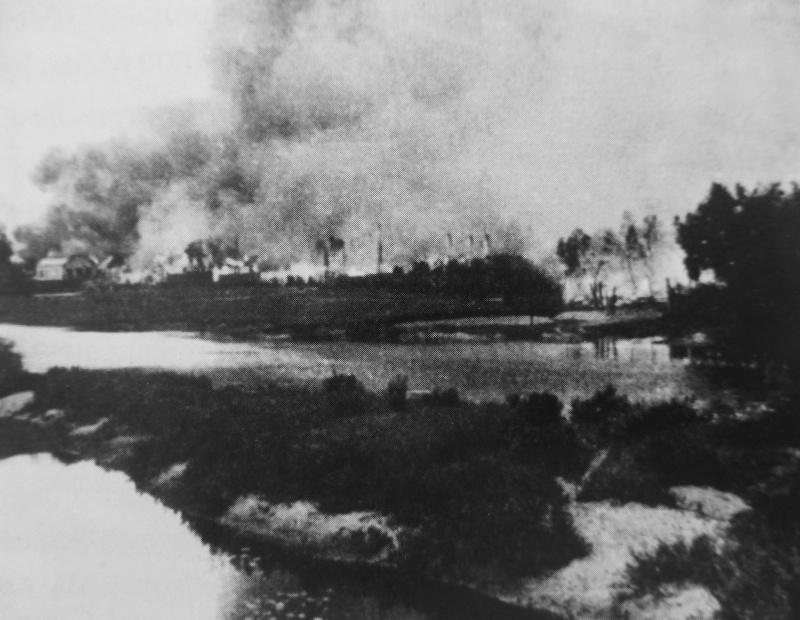 Vacances à la maison lors de la destruction du ghetto juif de Slonim