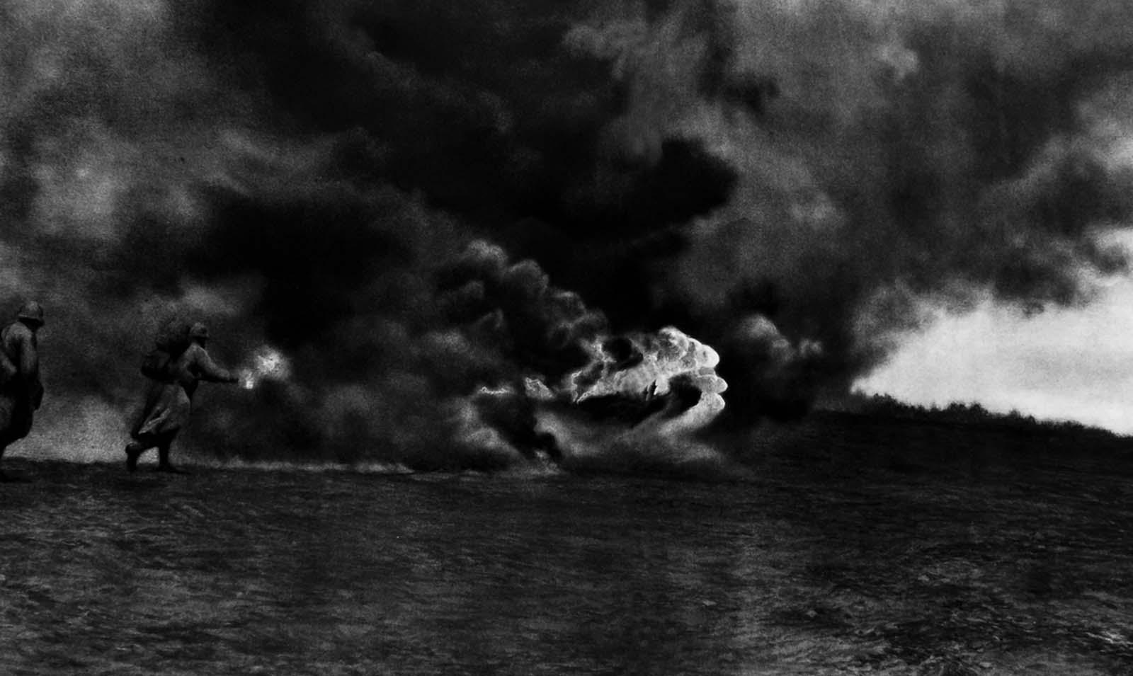 La terrifiante lance-flammes de la Guerre, de 1915 à 1918