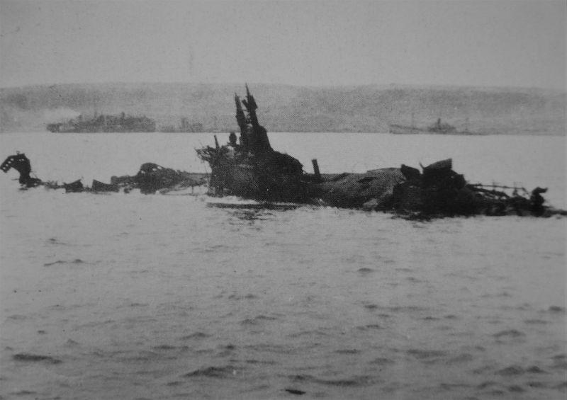 Détruite près de Tobrouk italienne sous-marin «Antonio Шьеза»