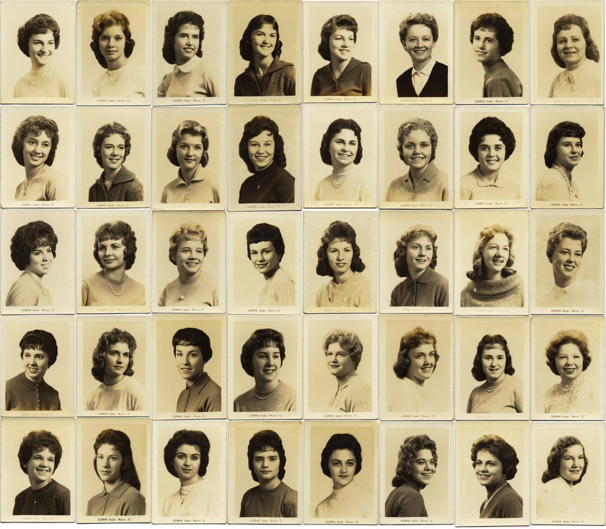 À Kay de Warren, Ohio - Et d'autres stars d'un grand annuaire des années 1960