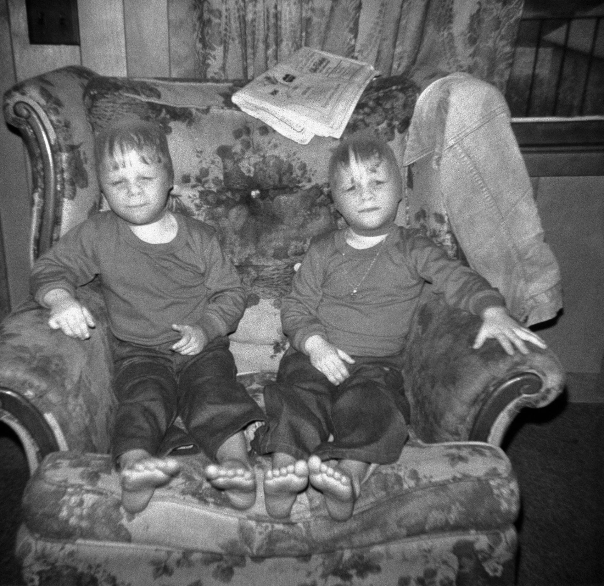 Portraits et rêves: instantanés d'enfants des Appalaches au Kentucky v. 1975
