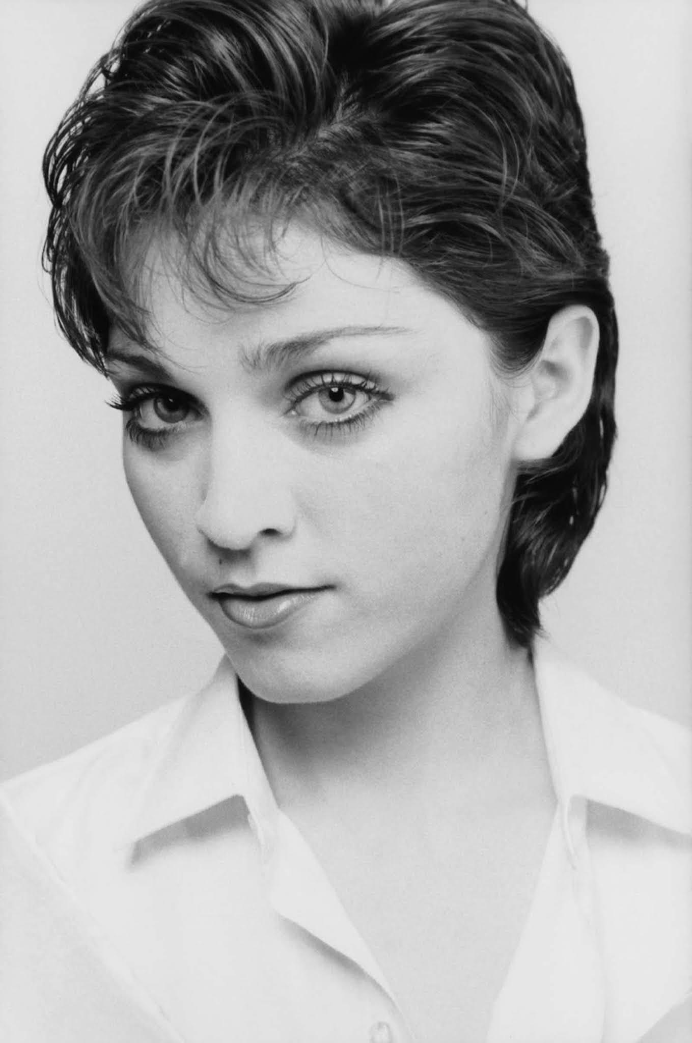 Une inconnue et jeune Madonna dans les photoshoots de Michael McDonnell, 1978-1979