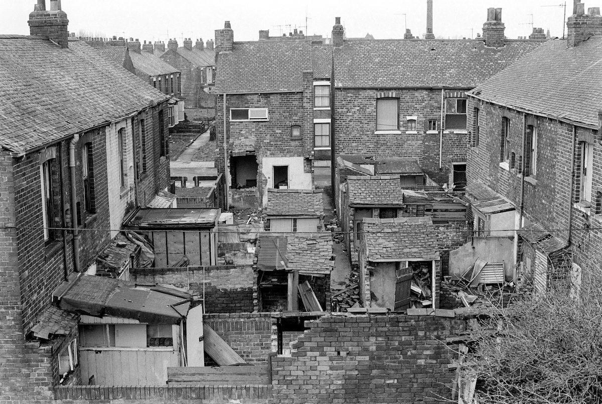 Une visite à pied de Hull dans les années 1980
