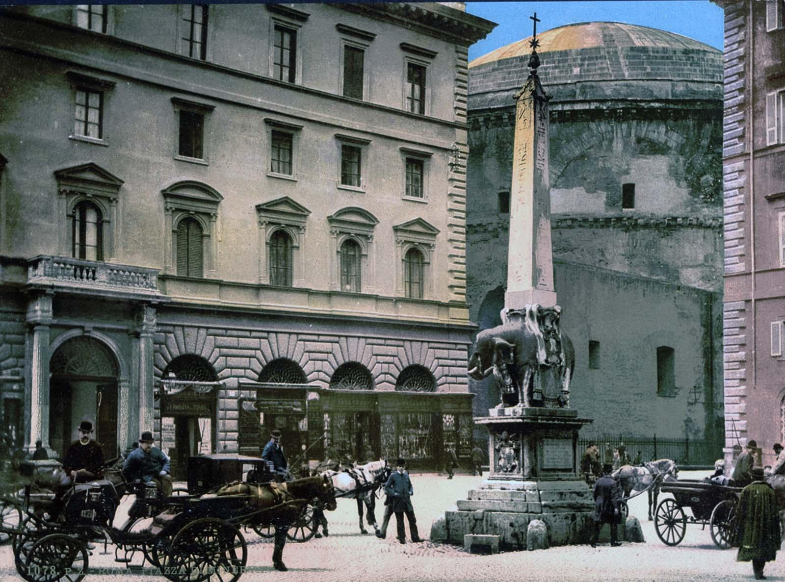 Anciennes photographies couleur de Rome, 1890