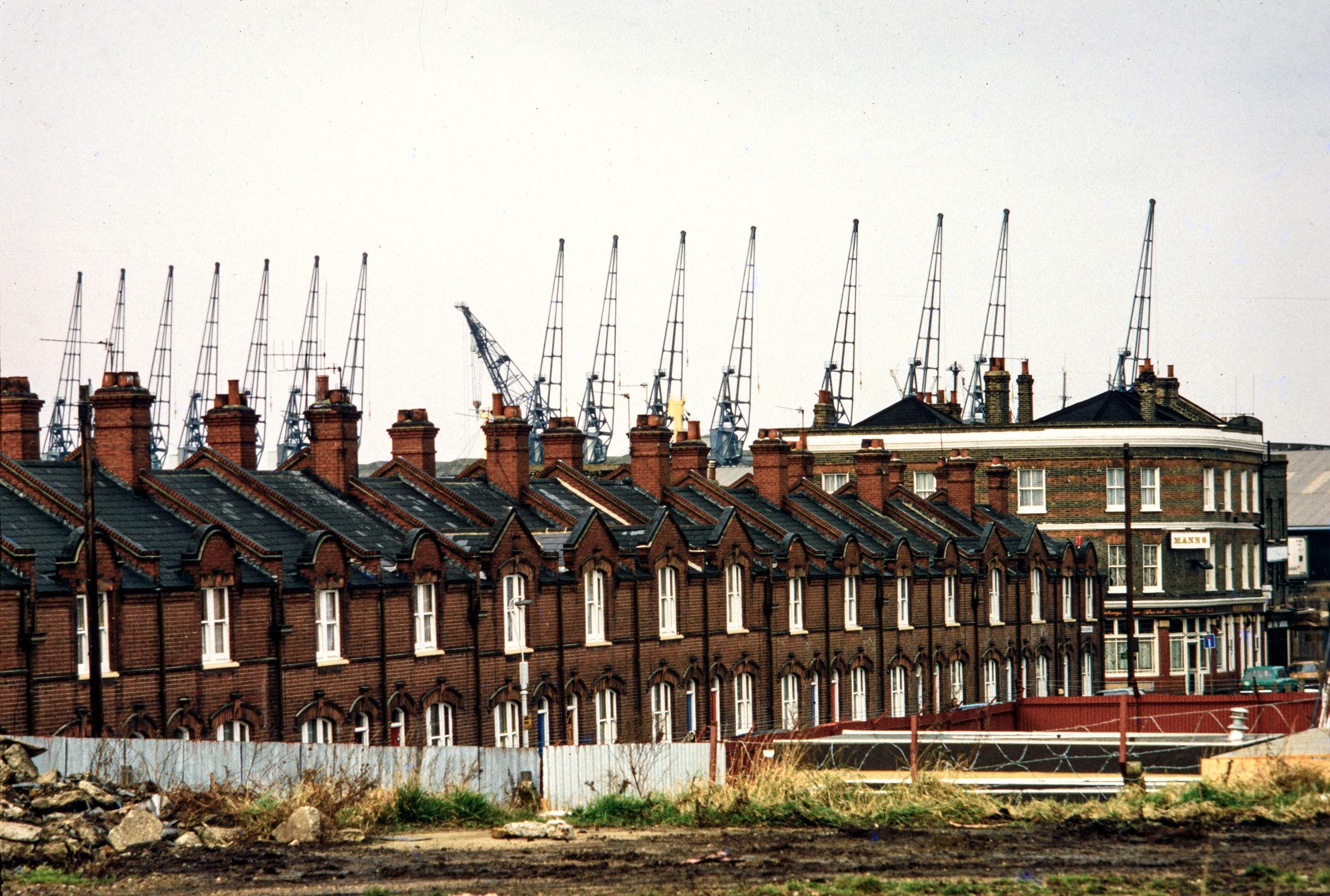Une promenade autour de Newham, East London en 1991