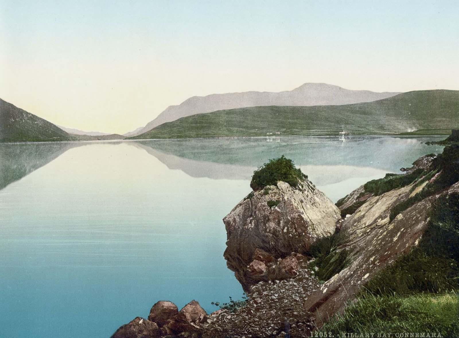 Les cartes postales photochrom capturent l'Irlande dans des couleurs vives, 1890