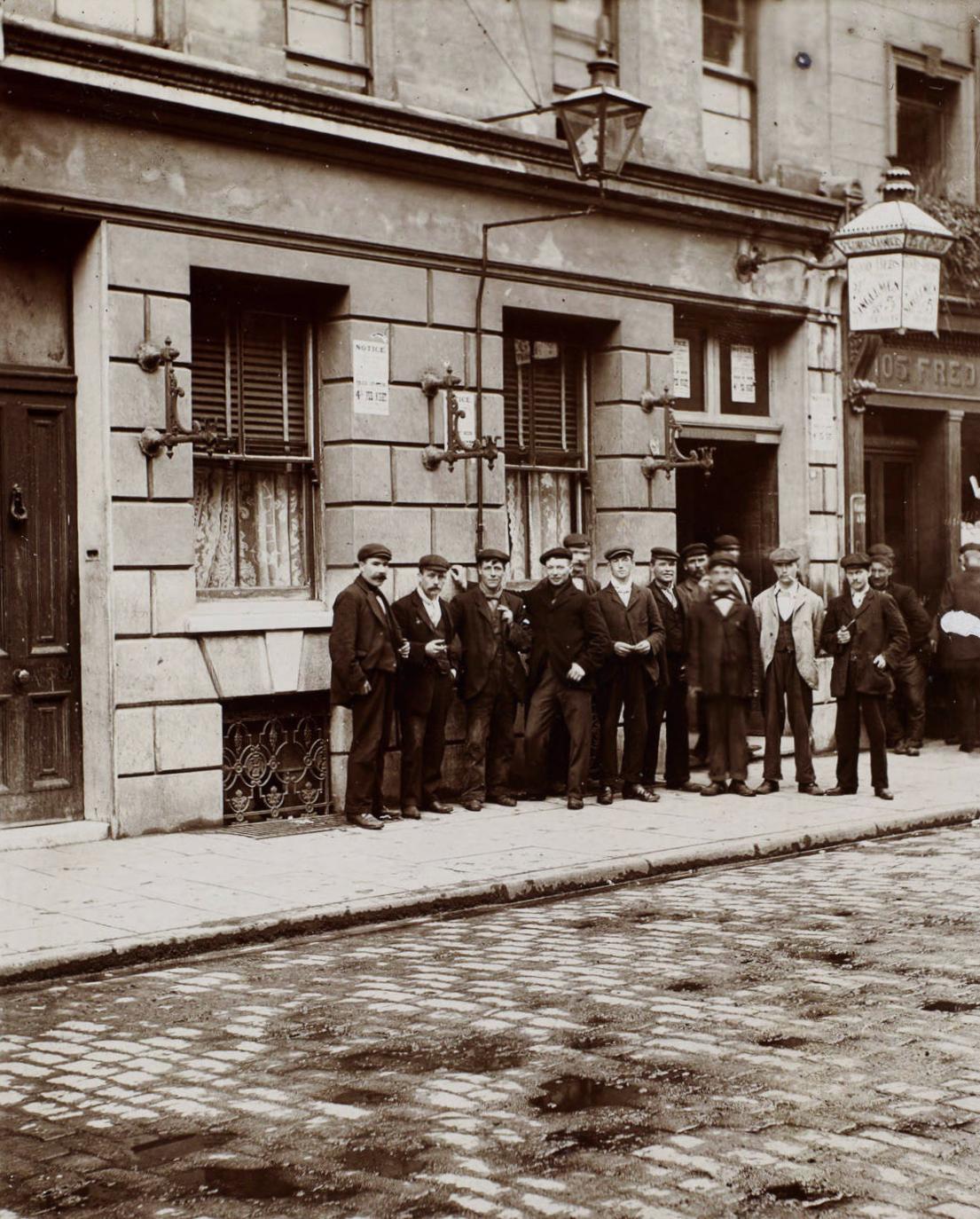 Photos extraordinaires de Jack London sur l'East End de Londres en 1902