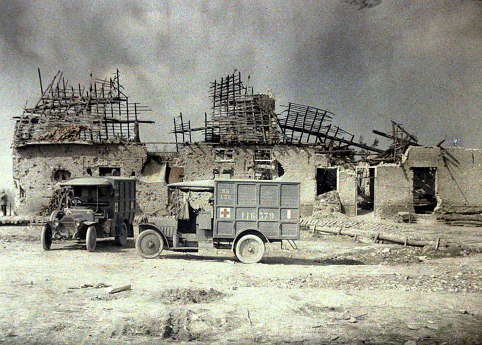 Photos couleur de l'armée française pendant la Grande Guerre, 1914-1918