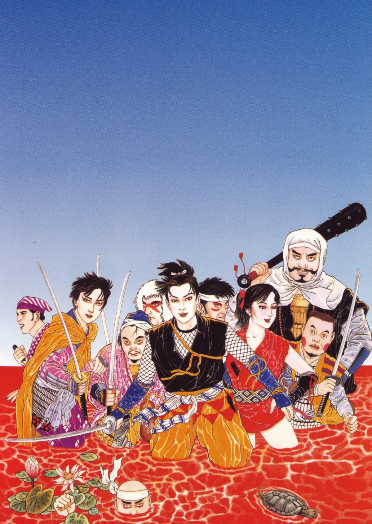 Blink: L'horreur qui lèche les yeux de Suehiro Maruo et Strange Other Obsessions (NSFW)