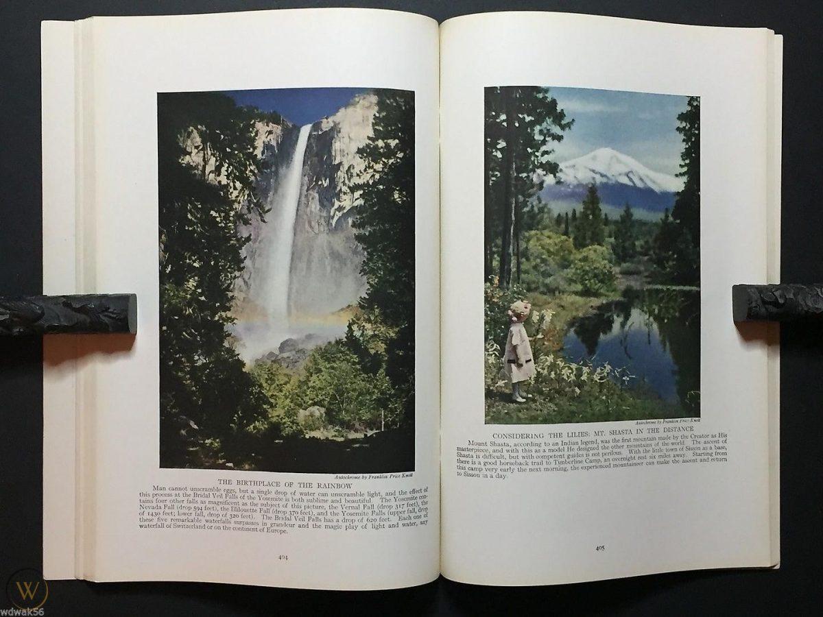 Autochromes sensationnels et exploiteurs de Franklin Price Knott (vers 1916)