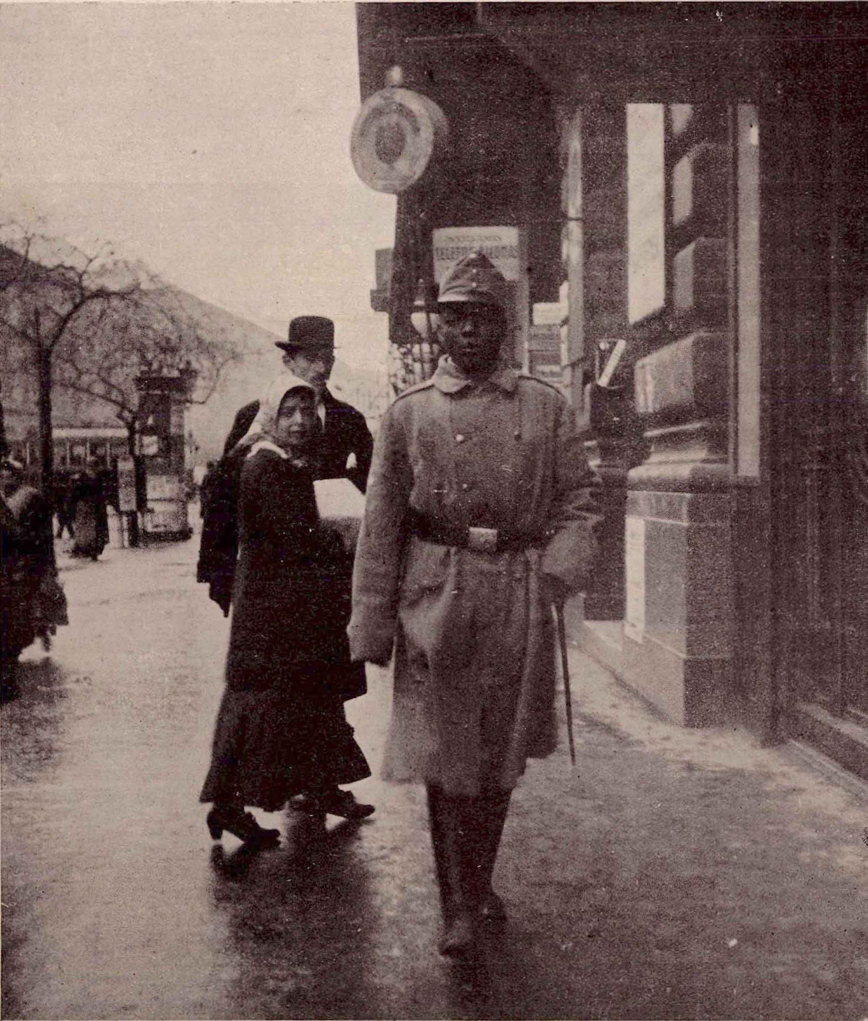 Le seul soldat noir de l'Empire austro-hongrois, 1915