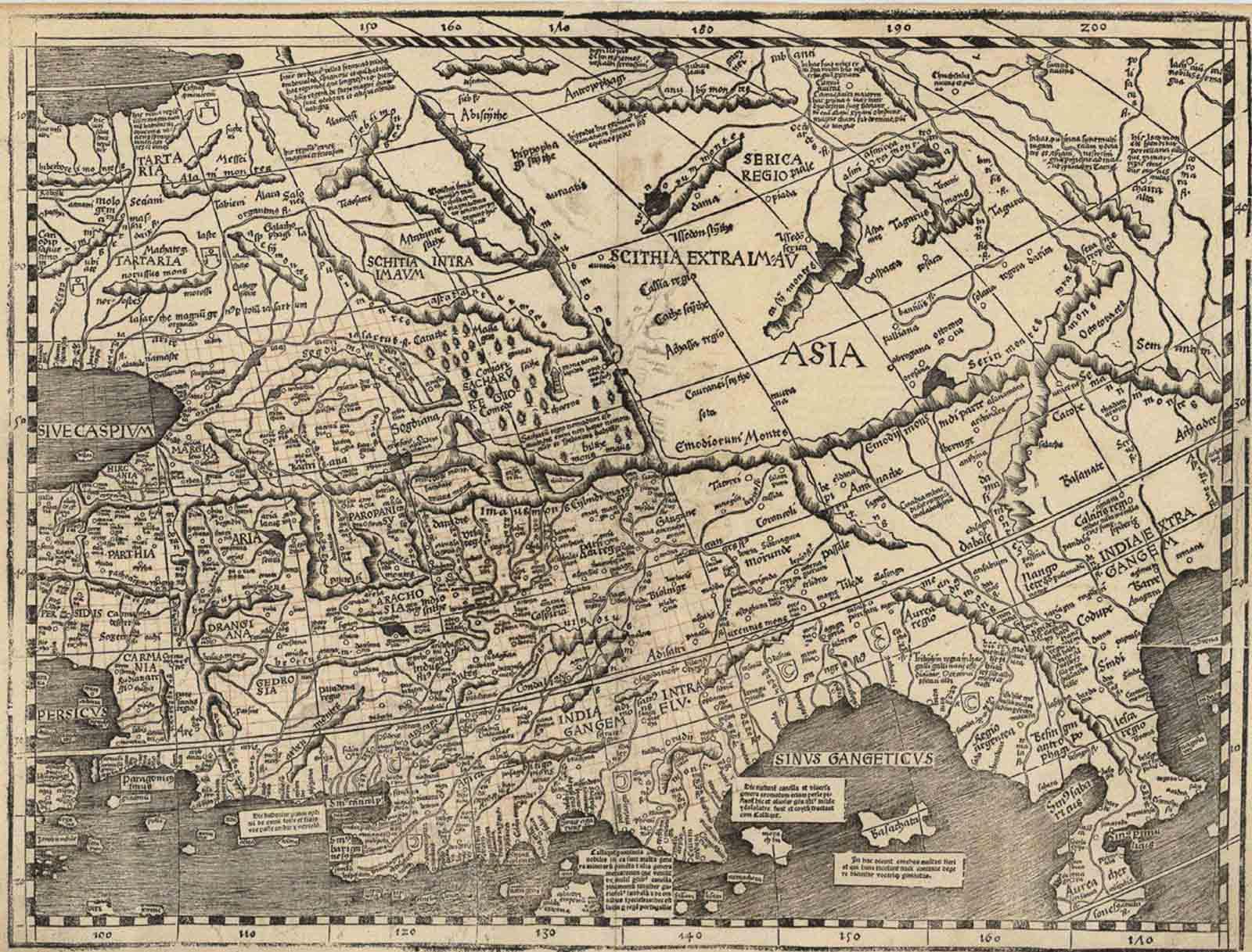 La carte de Waldseemüller qui a introduit le mot Amérique dans le monde, 1509