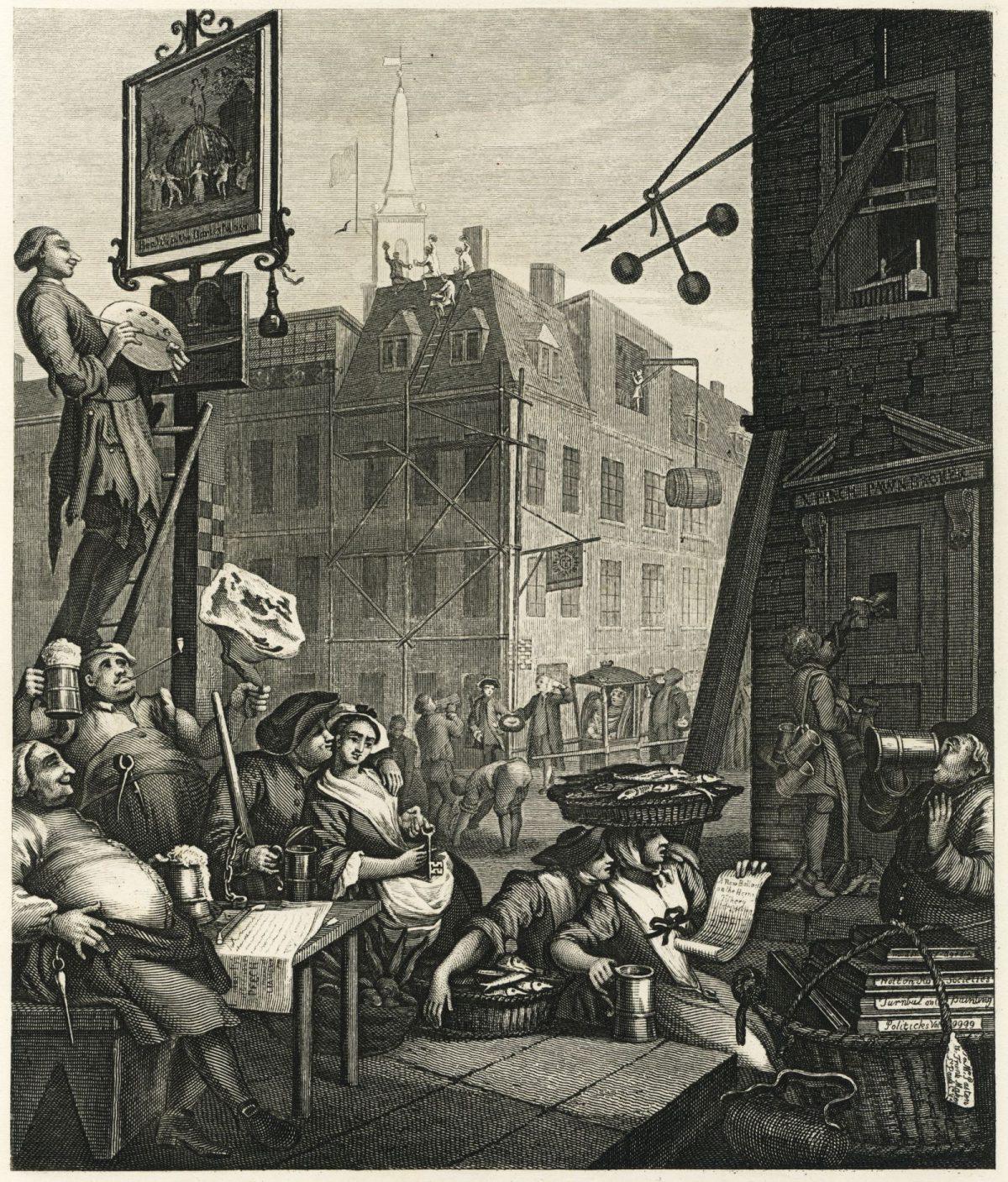 «The Rake's Progress» et les six points essentiels du bon art de William Hogarth