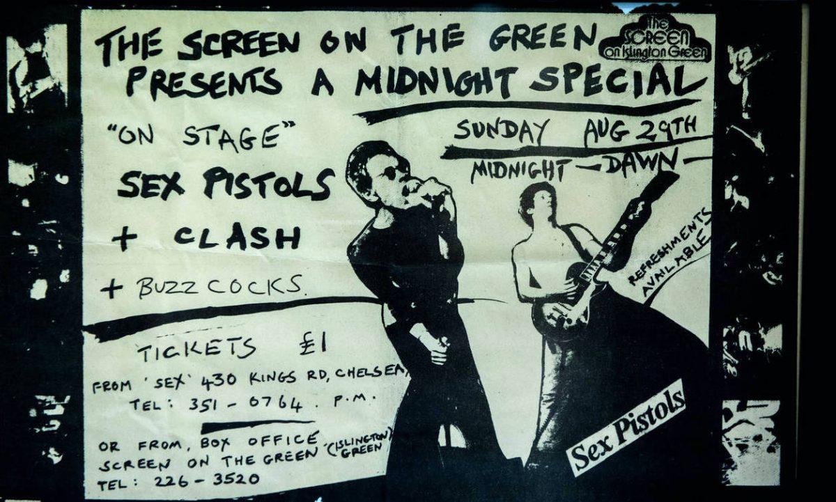 A Midnight Special – Écoutez le concert londonien de The Clash en 1976